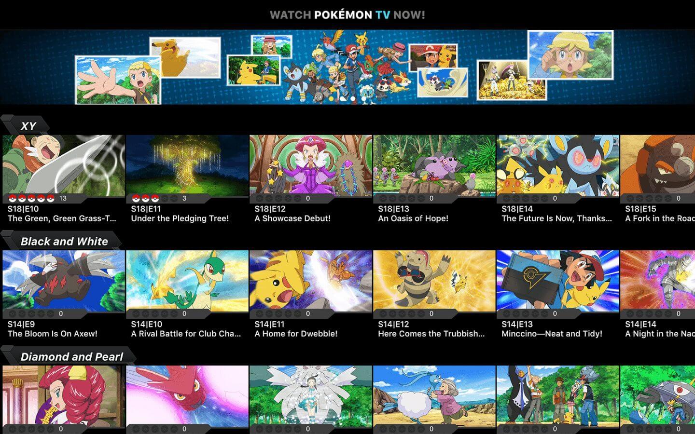 Pokémon TV chega à nova Apple TV