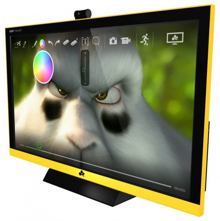 Review TV Apek Maxpad Windows Touch TV