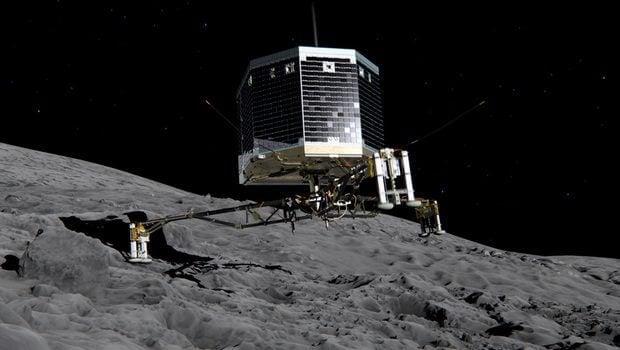 modulo sonda espacial Philae Rosetta