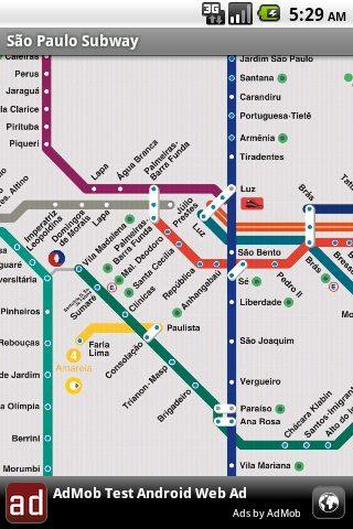 device2 - Novo App: Metrô de São Paulo para celulares Android