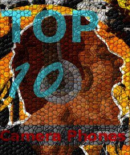 TOP 10 celulares com câmeras 2010