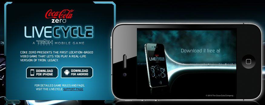 tron livecycle android showmetech - Livecycle: jogo com realidade aumentada baseado no filme TRON: O Legado