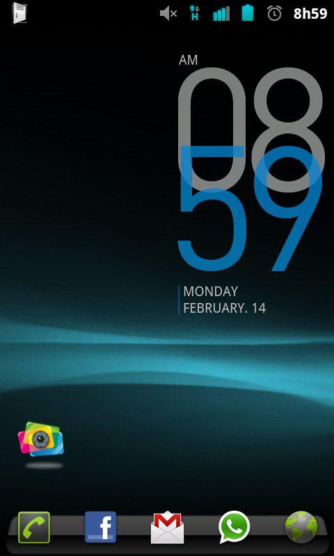 Desire HD CyanogenMOD 7 01