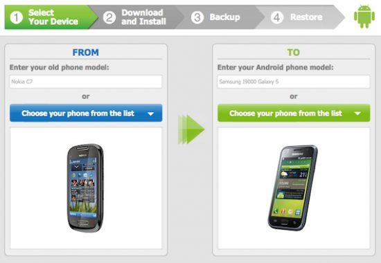 Como transferir os dados do seu celular Nokia/Symbian/Blackberry para o Android