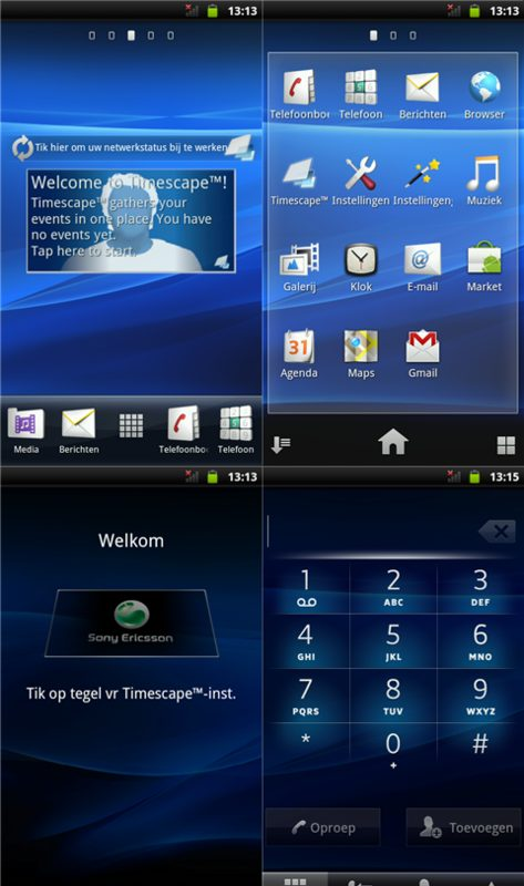Android 2.3 Gingerbread Xperia X10