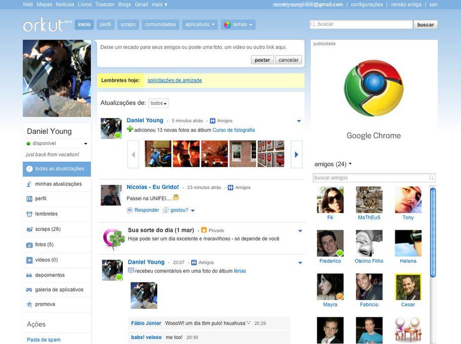 orkut 3col homepage pt1