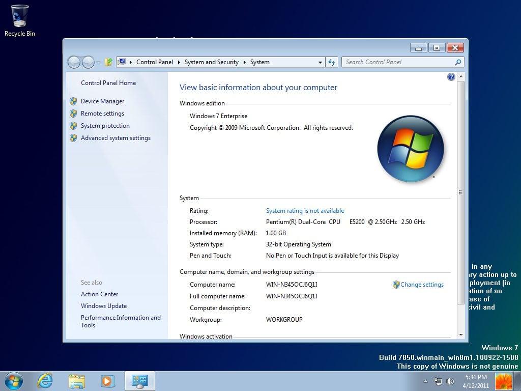 Versão prévia do Windows 8 vaza na internet