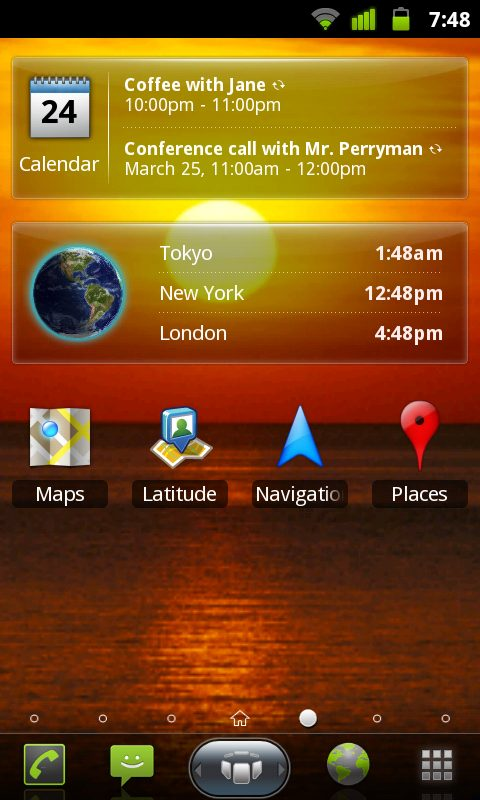 Spb shell 3d android homescreen