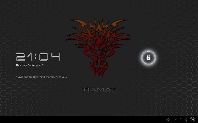 device 2011 09 08 210500 - Motorola XOOM: nova atualização da ROM Tiamat 2.2 (Android Honeycomb 3.2.2)