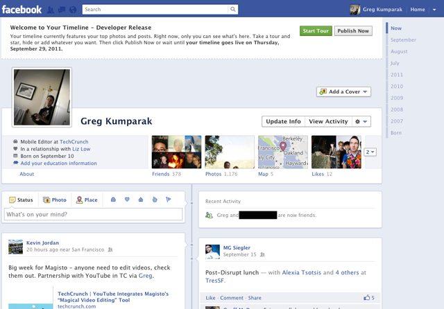 """Facebook: como ligar o novo """"Timeline"""" (tutorial)"""