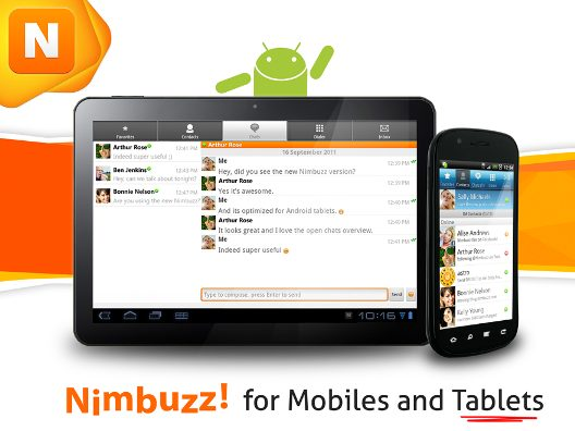 Nimbuzz for Mobiles and Tablets 1