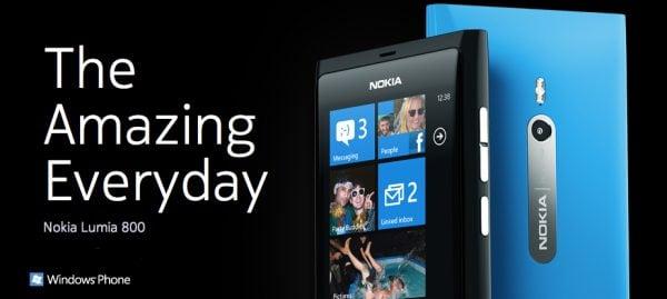 Nokia Lumia 600x269