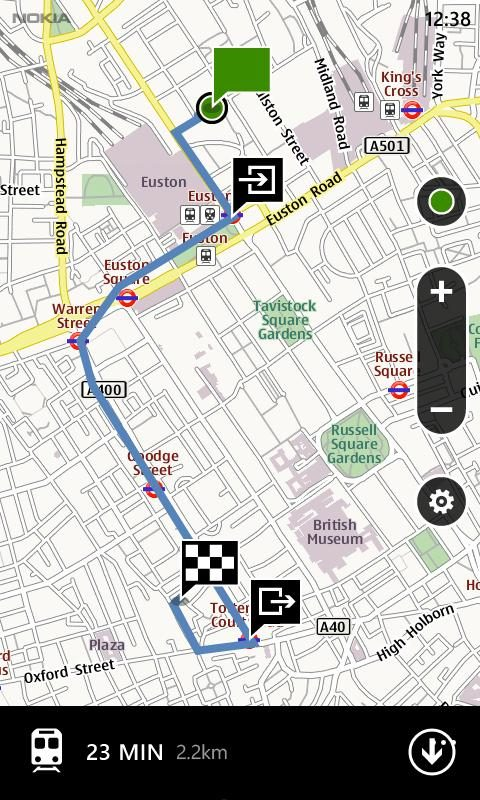 screenshot4 - Nokia Maps para WP7