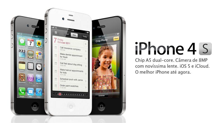 Operadoras divulgam o preço do iPhone 4S