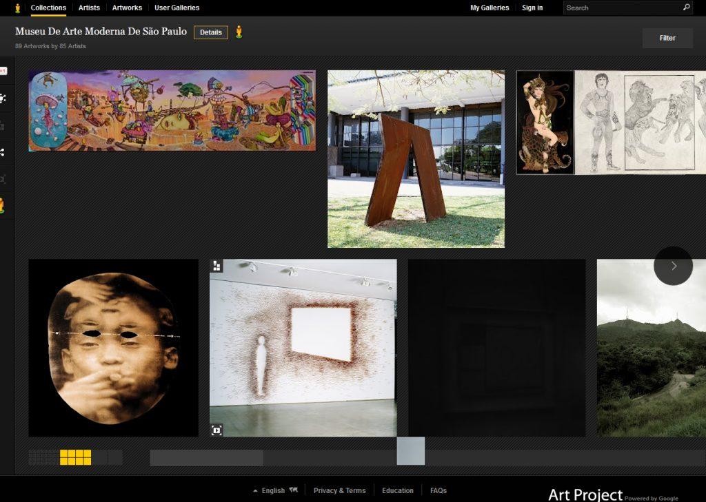mam 1 - Google apresenta obras de museus brasileiros