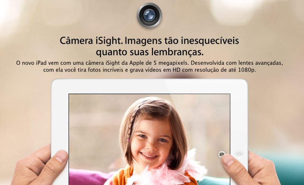 Novo iPad já aparece na loja brasileira da Apple 7