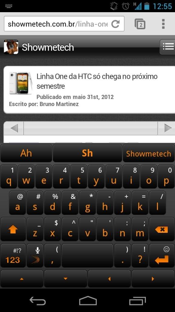 SwiftKey 3 Beta: teclado gratuito para Androids
