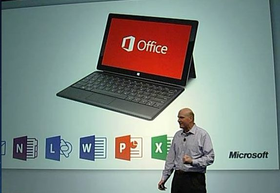 Microsoft apresenta o Office 2013