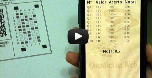 Captura de Tela 2012 07 25 às 17.42.49 - Aplicativo para Android permite correção automática de avaliações