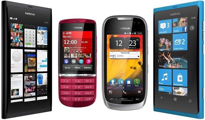 Nokia plataformas
