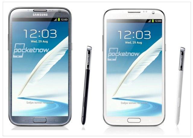 Galaxy Note II é oficialmente anunciado pela Samsung