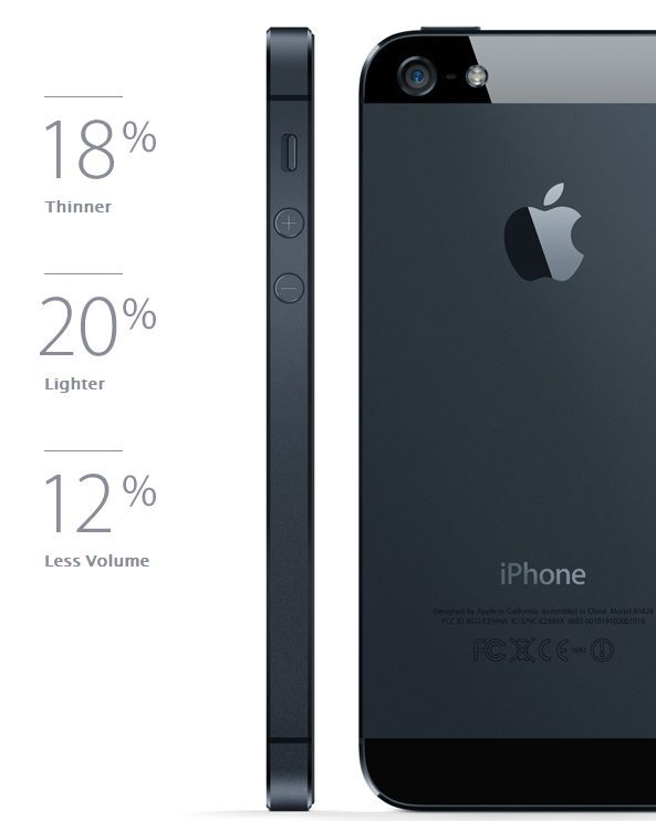 Apple iPhone 5 4 - Veja as imagens do iPhone 5