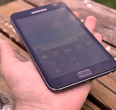 Versão do Android 4.1.1 para primeira geração do Galaxy Note vaza na Internet