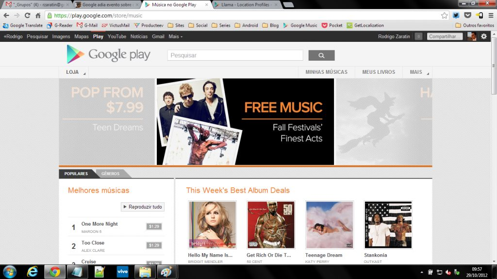 Google Play Android Brasil Filmes musicas videos 3