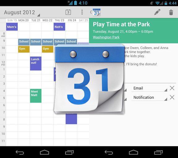 Google Agenda ganha aplicativo para o Android