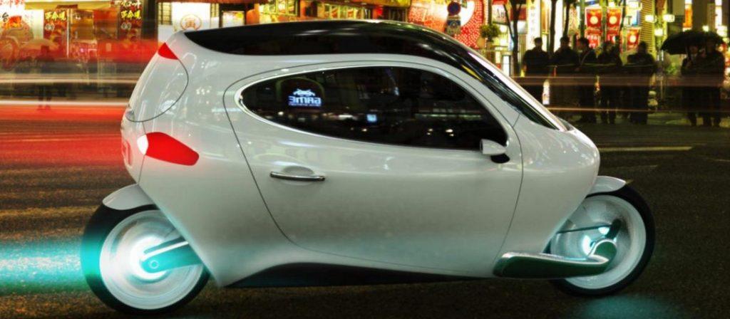 C-1, da Lit Motors, um carro super tecnológico