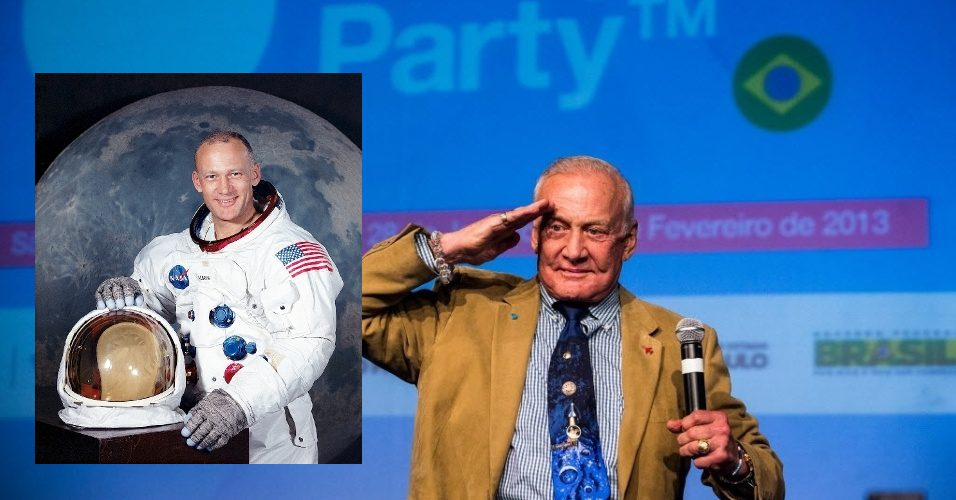 Campus Party 2013 Buzz Aldrin