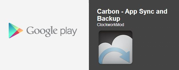 Carbon Backup Google Play