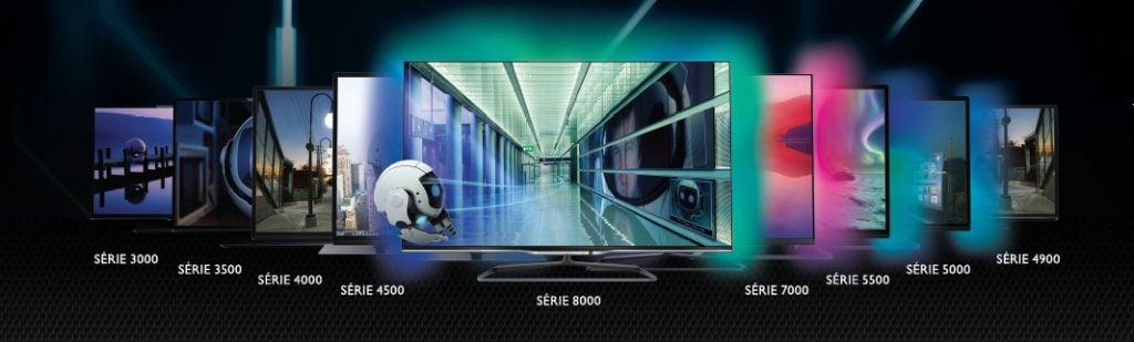 Philips amplia TV's com sistema ambilight na disputa das Smart TVs