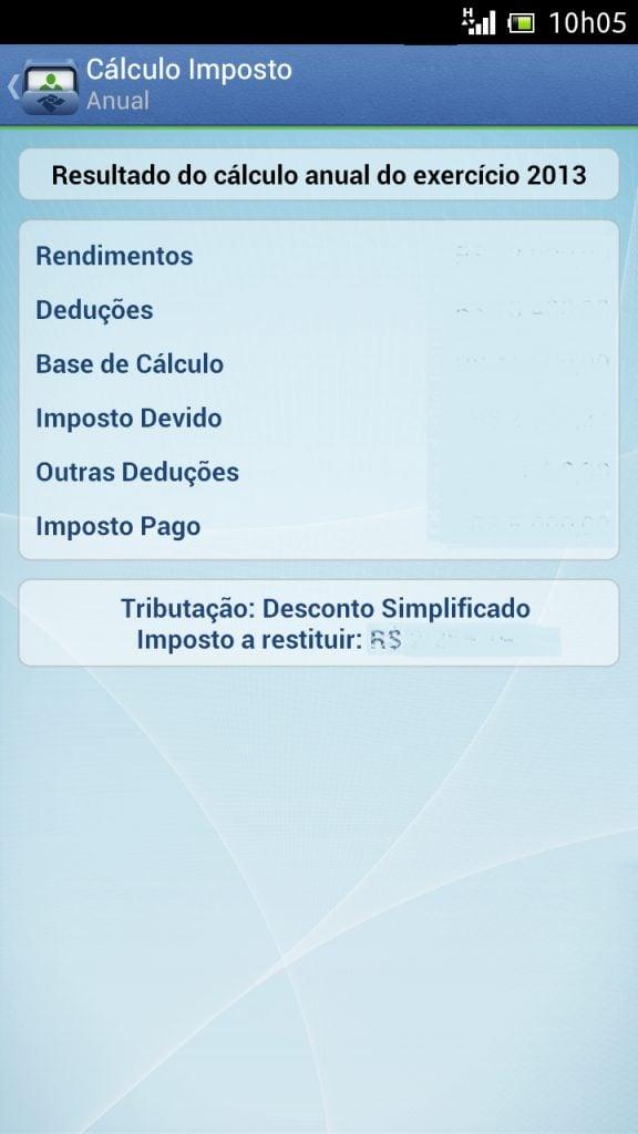 Screenshot 2013 03 19 10 05 46 - Receita Federal lança aplicativo para simulação do Imposto de Renda