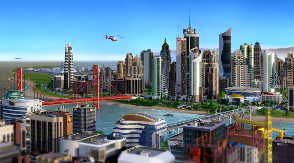 Simcity 5 panoramic