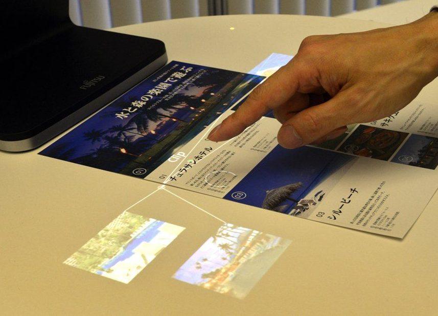 Laboratório japonês transforma mãos em mouse