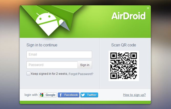 Airdroid capa