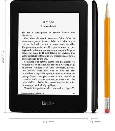 Amazon Kindle PaperWhite - Review: Kindle Paperwhite