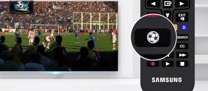 """De olho na Copa, Samsung lança linha de TVs com """"função futebol"""""""