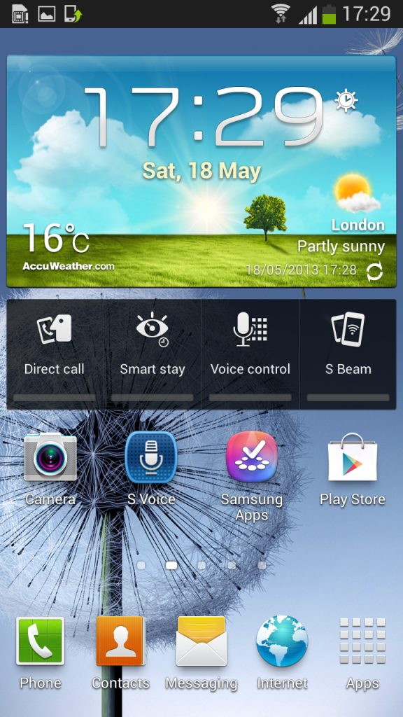 Galaxy S3 GT i9300 S III Android 4.2.2 Jelly Bean