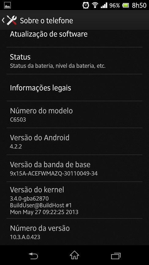 Xperia zq android 4. 2. 2 showmetech jelly bean 5