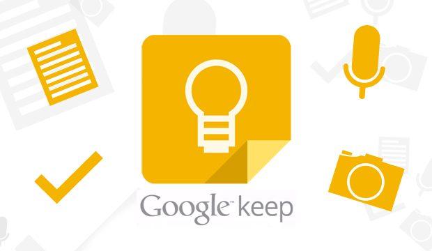 Atualização traz sistema de lembretes ao Google Keep
