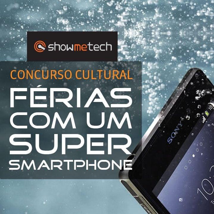 Concurso cultural: Férias com um super smartphone