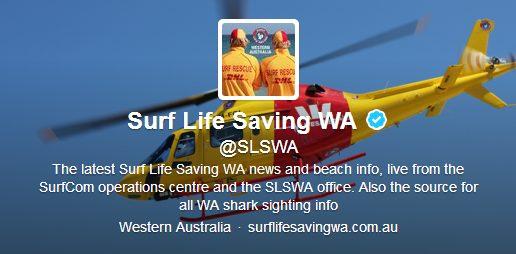 Twitter: alertas de tubarão na Austrália 2