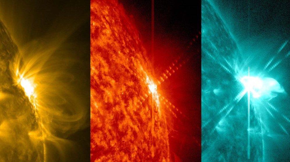 Observatório da NASA registra erupção solar 2