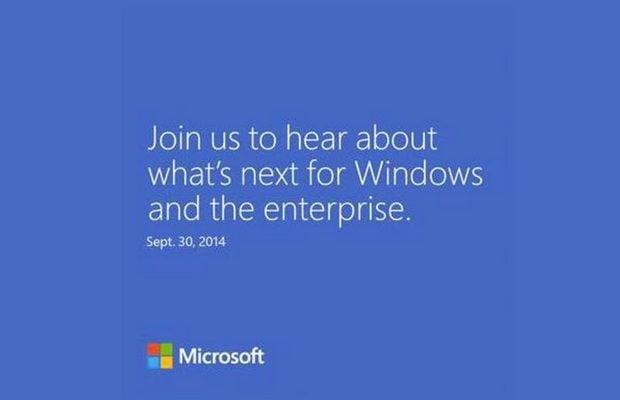 Novidades do Windows serão apresentadas na próxima semana