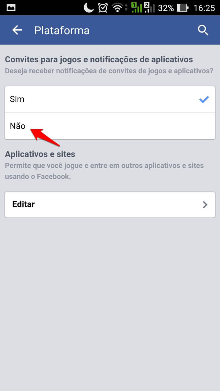 Tutorial: Como desativar as solicitações de jogos no Facebook 8
