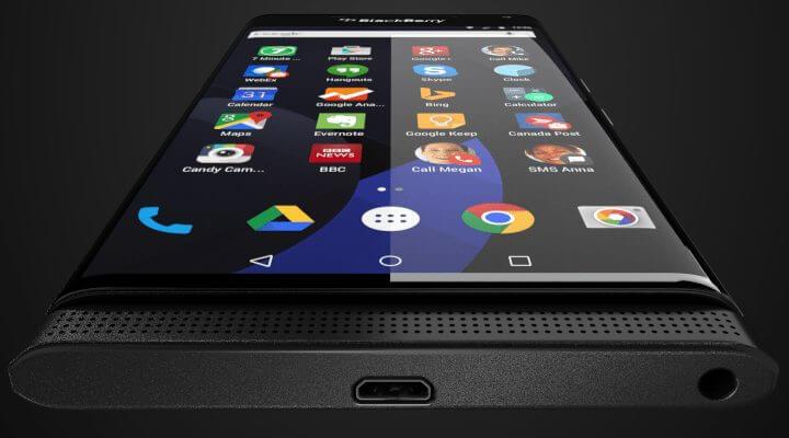 Vazaram imagens do suposto smartphone da BlackBerry com Android