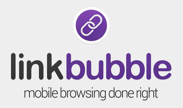 link bubble logo and icon