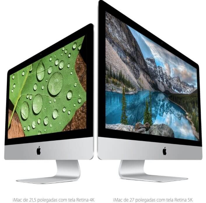iMacs e acessórios são atualizados pela Apple